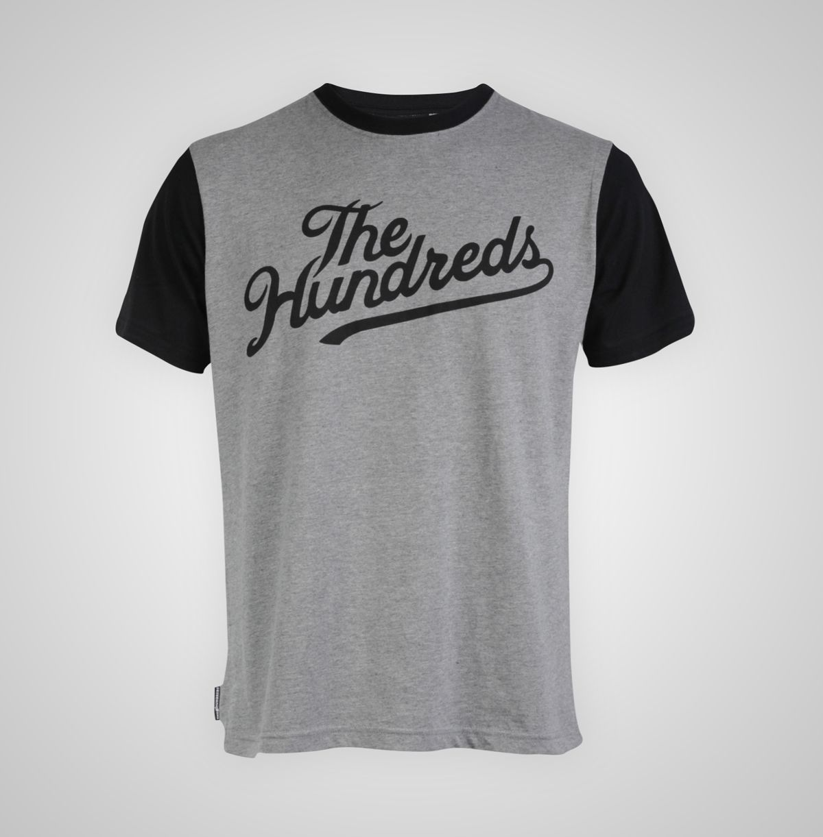 Heather Grey Conrad T-Shirt by The Hundreds - Recreo, UK