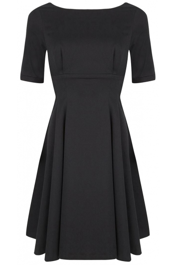 The Black Audrey Dress by BANNOU - BANNOU
