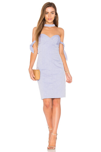 dress mini dress mini off the shoulder blue