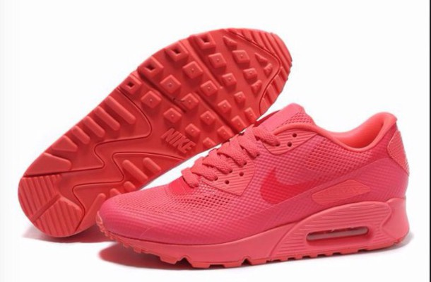 shoes red air max