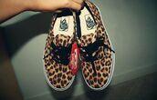 shoes,vans,leopard print,original,swag,street,fashion,girl,girly,leopard vans,leapard print