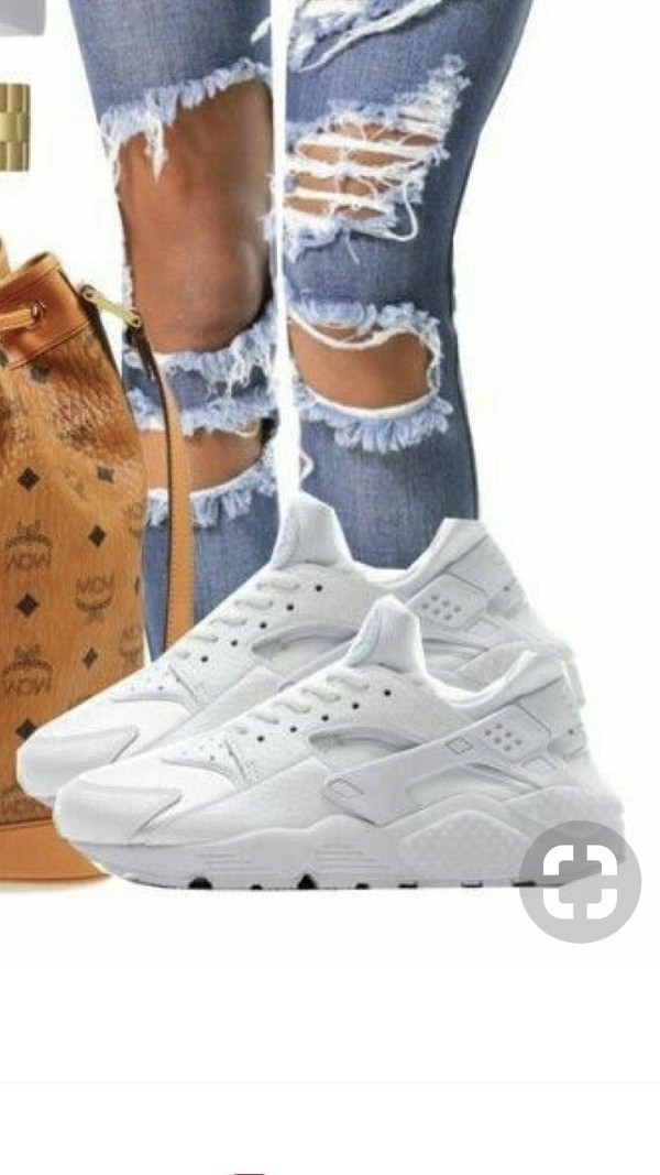 premium selection cda04 d1a75 Nike Air Huarache Run Donna Bianco 634835-108 - Acquista ...