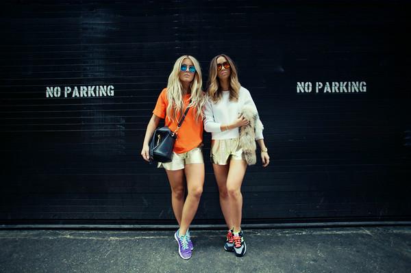 fanny lyckman blogger bag top shorts shoes