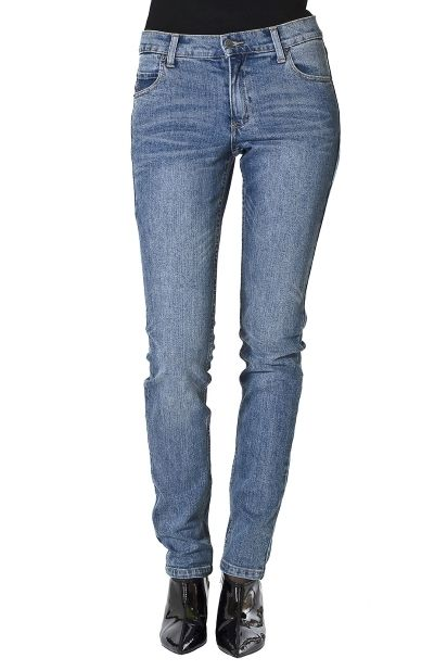 Tight skinny denim jeans in dark clean wash size 26 length 34 nwt