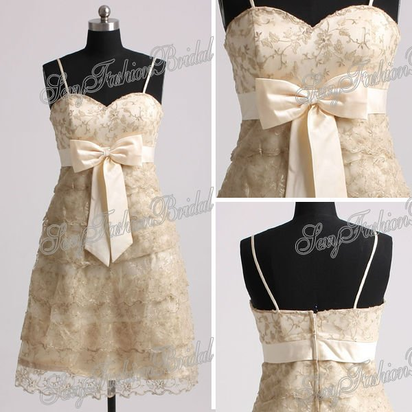 Aliexpress.com : buy spaghetti strap a line natural waist lace patterns for bridesmaids dresses maid of honor dress matron of honor dresses from reliable pattern blues suppliers on sexyfashionbridal