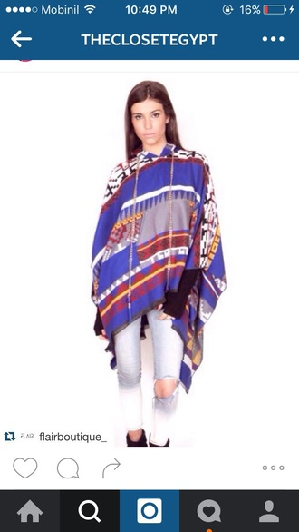 sweater poncho winter outfits color/pattern knit tassel