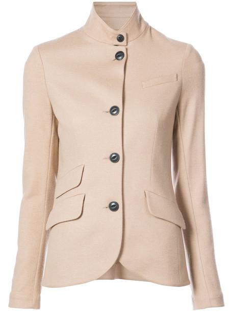 Rag & Bone blazer women nude wool jacket