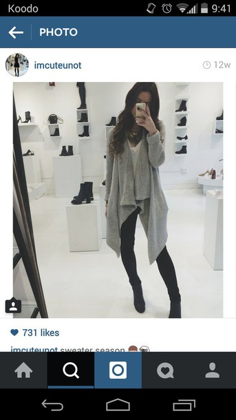 cardigan grey cardigan