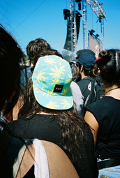 hat,huf,weed,5 panel cap