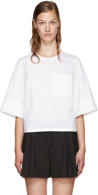 blouse white crochet top