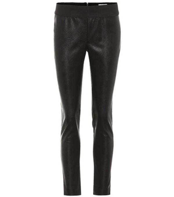 Stella McCartney Darcelle faux leather leggings in black