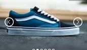 shoes,vans old skool navy