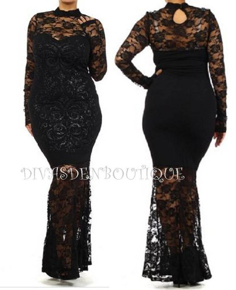 dress lace dress wedding plus size dress plus size cury fashion reception cocktail cocktail dress
