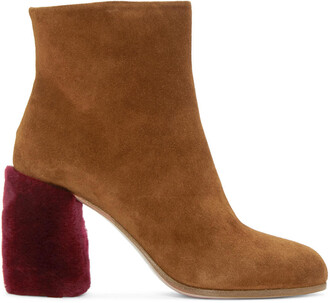 shearling boots tan boots suede shoes