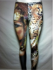 pants,leggings,fashion leggings,fashion,spring outfits,printed leggings,cleopatra,leopard print