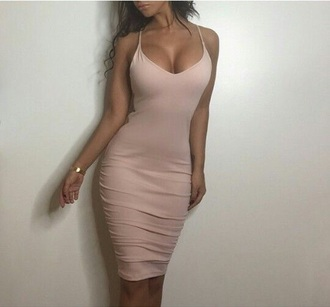 dress nude dress bodycon dress midi dress nude bodycon midi party dress sexy party dresses sexy sexy dress party outfits sexy outfit summer dress summer outfits classy dress elegant dress cute cute dress girly girly dress date outfit cocktail dress birthday dress summer holidays clubwear club dress graduation dress wedding guest wedding clothes