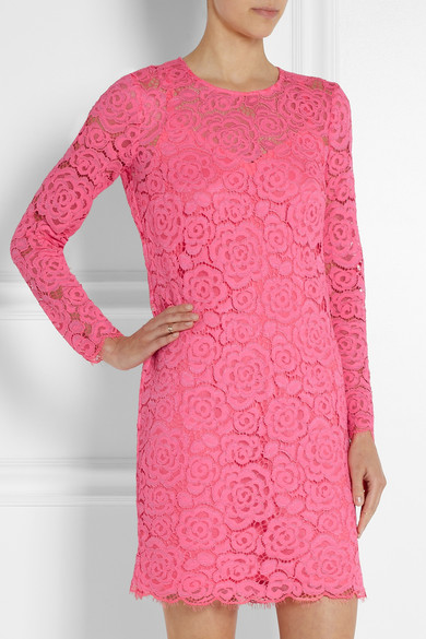 Dkny Floral Lace Mini Dress Net A Portercom