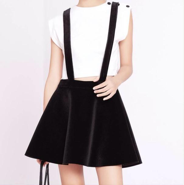 skirt black hair accessory
