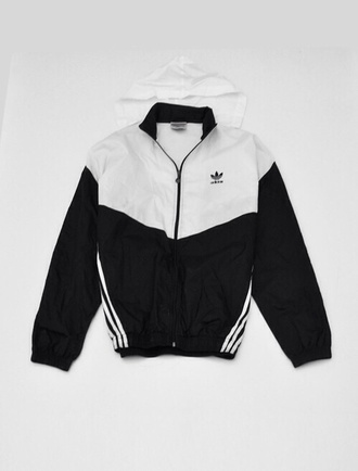 jacket adidas thug life old school windbreaker sweater aaliyah hoodie unisex black white