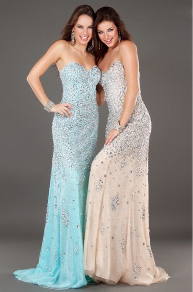 gown sparkles dress. chiffon sweetheart champagne grad beading models