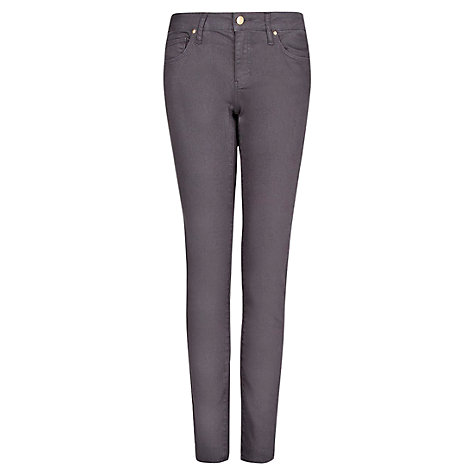 Buy Mango Super Slim Fit Jeans, Dark Grey online at John Lewis