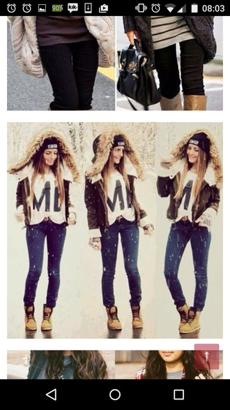 jacket brown brown jacket leather fur stylish winter jacket winter outfits fall outfits white cute hood bomber jacket shearling jacket suede jacket