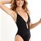 Peixoto swimwear isla | black one piece swimsuit