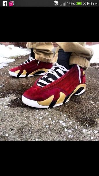 low priced 0007e 63862 ... czech shoes air jordan 14 retro jordans velvet red jordans d2901 db7b6