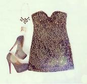dress,little black dress,black,shoes,tight,bodycon,mini,party