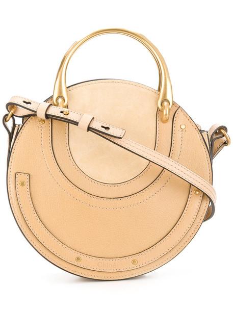 Chloe women bag shoulder bag leather nude