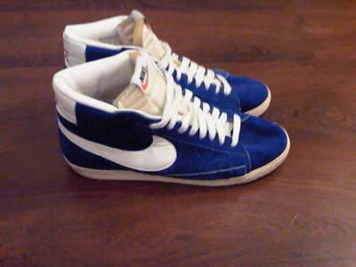 Nike blazer vintage high (uk10) on ebay (end time  22