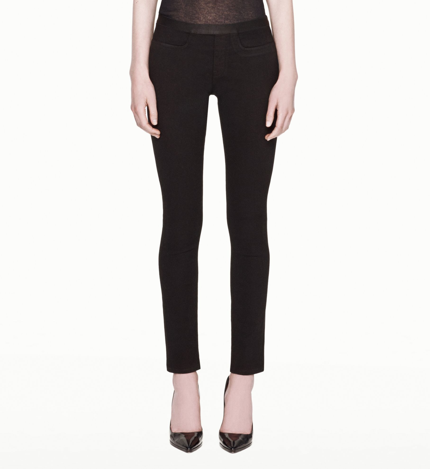 Helmut Lang Bat Wash Pull-on Jean | Helmutlang.com
