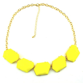 jewels,yellow,necklace,statement necklace,trendy necklace,jewelry