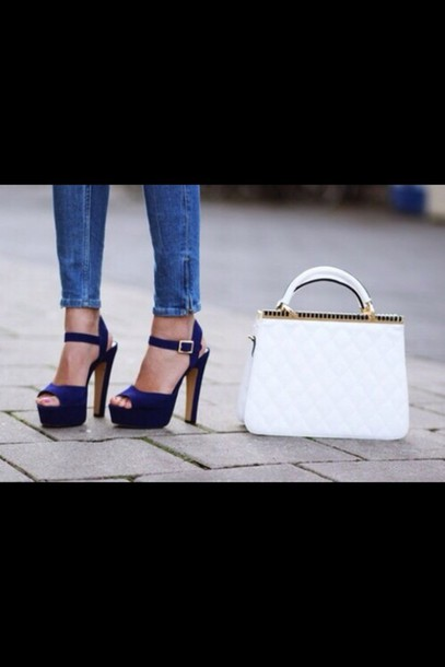 3dc3ed1c4a68 shoes blue blue heels blue pumps blue shoes nice shoes lovely shoes pumps  high heels cute
