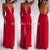 new 2014 hot summer fashion club women sexy dress prom backless open high split back red party chiffon maxi dress OM225-in Dresses from Apparel & Accessories on Aliexpress.com | Alibaba Group
