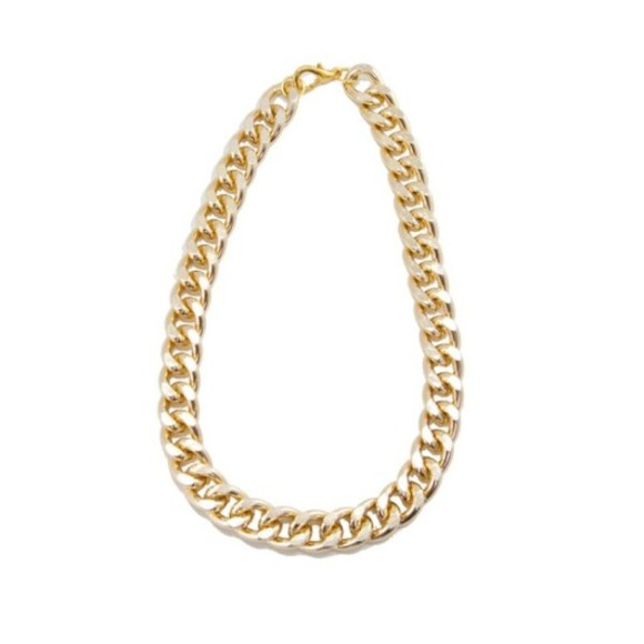 frantic jewelry jewels necklace gold chain