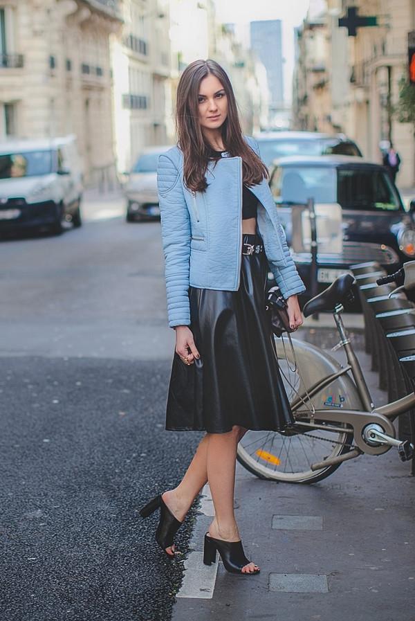 fashion agony jacket t-shirt skirt bag jewels