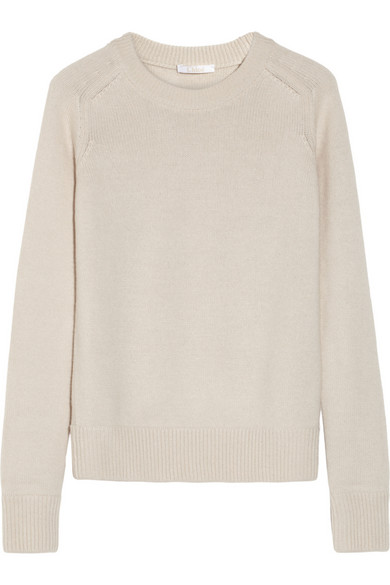 Chloé | Wool and cashmere-blend sweater | NET-A-PORTER.COM