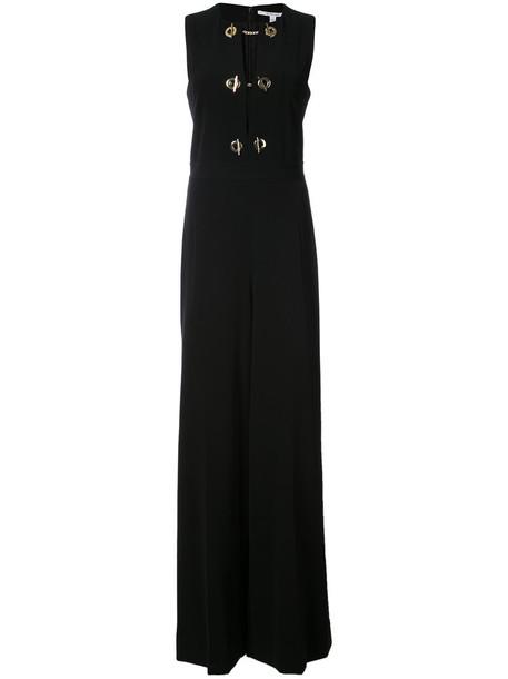 DEREK LAM 10 CROSBY jumpsuit sleeveless women black