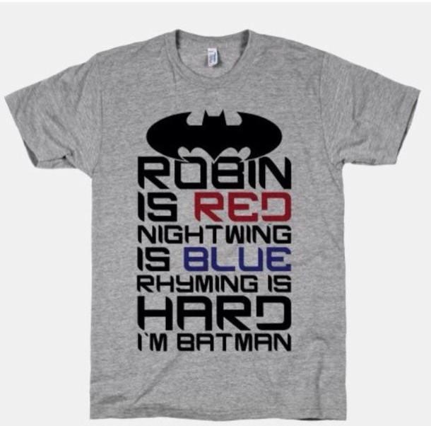 shirt funny grey batman shirt