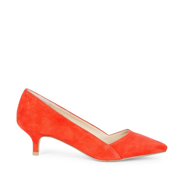 Sole Society Desi Kitten Heel Pump - Poppy-5