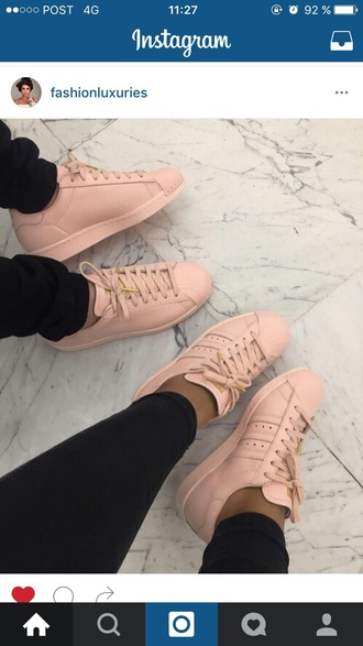 shoes adidas superstars adidas rose pink sneakers adidas shoes