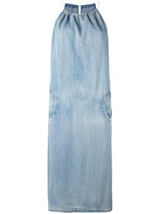 dress denim dress denim women cotton blue