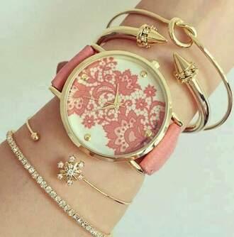 jewels rose gold