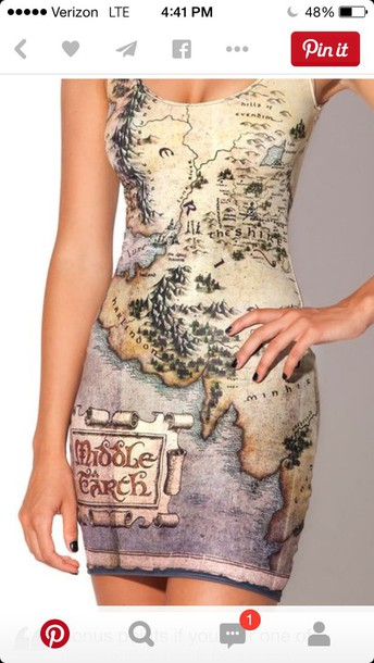 dress hobbit middle earth