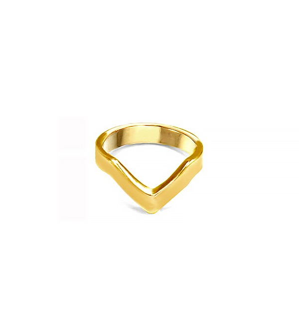 V-Shape Finger Top Ring