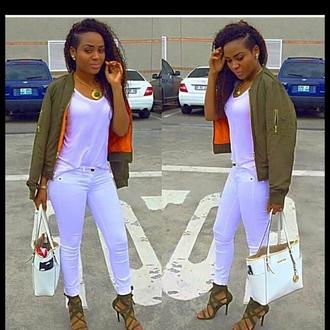 jacket long cardigan bag shoes jeans