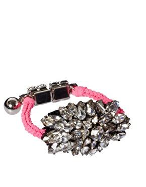 Pink | Shourouk Sierra Pink Bracelet at ASOS