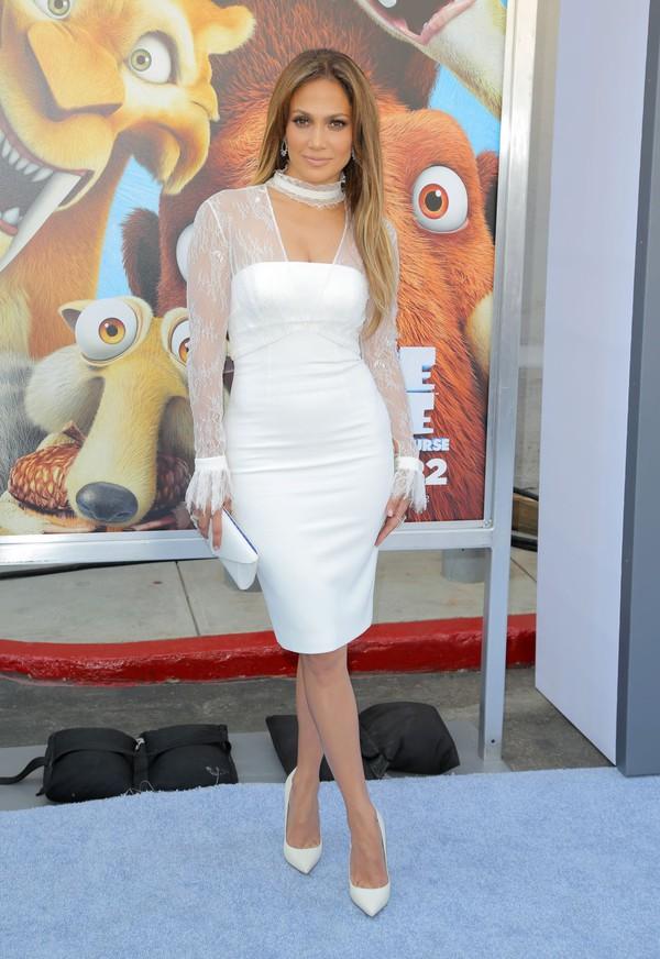 Jennifer Lopez Midi Dress - Shop for Jennifer Lopez Midi Dress on ...