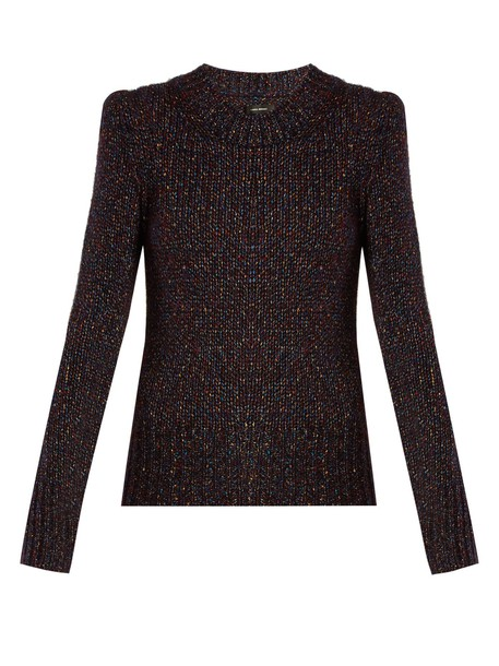 Isabel Marant sweater dark purple